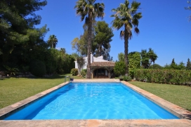 Large and romantic villa  with private pool in Javea, on the Costa Blanca, Spain for 8 persons, Javea