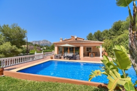 Beautiful and nice villa in Javea, on the Costa Blanca, Spain  with private pool for 8 persons, Javea