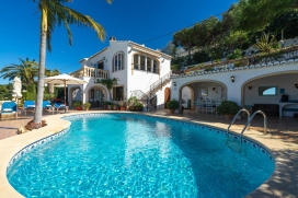 Classic and nice villa  with private pool in Javea, on the Costa Blanca, Spain for 4 persons, Javea