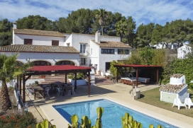 Large and classic villa  with private pool in Javea, on the Costa Blanca, Spain for 12 persons, Javea