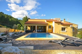 Lovely and comfortable villa  with private pool in Javea, on the Costa Blanca, Spain for 8 persons, Javea