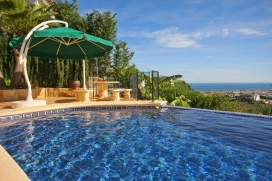 Beautiful and luxury villa  with private pool in Javea, on the Costa Blanca, Spain for 6 persons, Javea