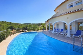 Beautiful and comfortable villa  with private pool in Javea, on the Costa Blanca, Spain for 4 persons, Javea
