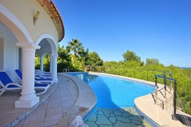 Beautiful and comfortable villa in Javea, on the Costa Blanca, Spain  with private pool for 6 persons, Javea