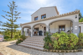Large and comfortable villa  with private pool in Javea, on the Costa Blanca, Spain for 6 persons, Javea