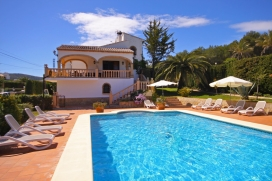 Large and nice villa  with private pool in Javea, on the Costa Blanca, Spain for 12 persons, Javea