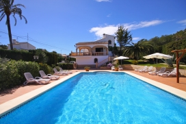 Lovely and nice villa  with private pool in Javea, on the Costa Blanca, Spain for 6 persons, Javea