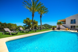 Large and luxury villa  with private pool in Javea, on the Costa Blanca, Spain for 8 persons, Javea