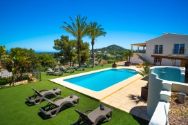 Large and luxury villa  with private pool in Javea, on the Costa Blanca, Spain for 10 persons, Javea
