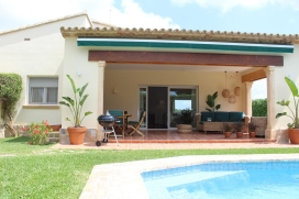 Villa in Moraira, on the Costa Blanca, Spain  with private pool for 4 persons, Moraira