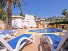 Madrono 2, Beautiful and comfortable villa  with private pool in Moraira, on the Costa Blanca, Spain for 2 persons...