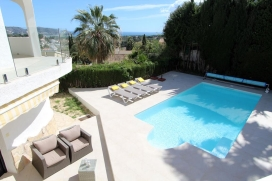 Lovely and comfortable villa  with private pool in Moraira, on the Costa Blanca, Spain for 4 persons, Moraira