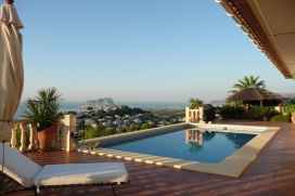 Villa in Moraira, on the Costa Blanca, Spain  with private pool for 6 persons, Moraira