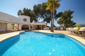 Wonderful and  luxury villa  with heated pool in Moraira, on the Costa Blanca, Spain for 8 persons, Moraira
