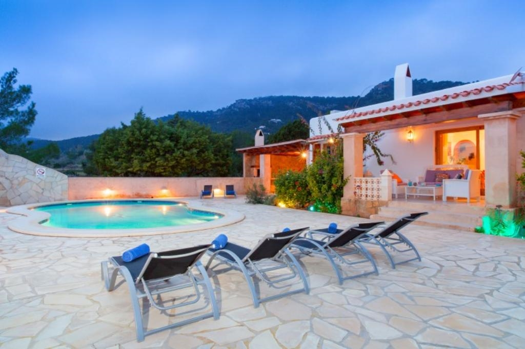 Ibiza travel and vacation rentals 310 villa for rent in - Ibiza house renting ...