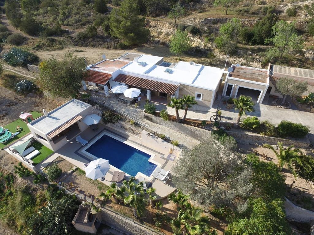 Ibiza Villa For Rent in Es Cubells