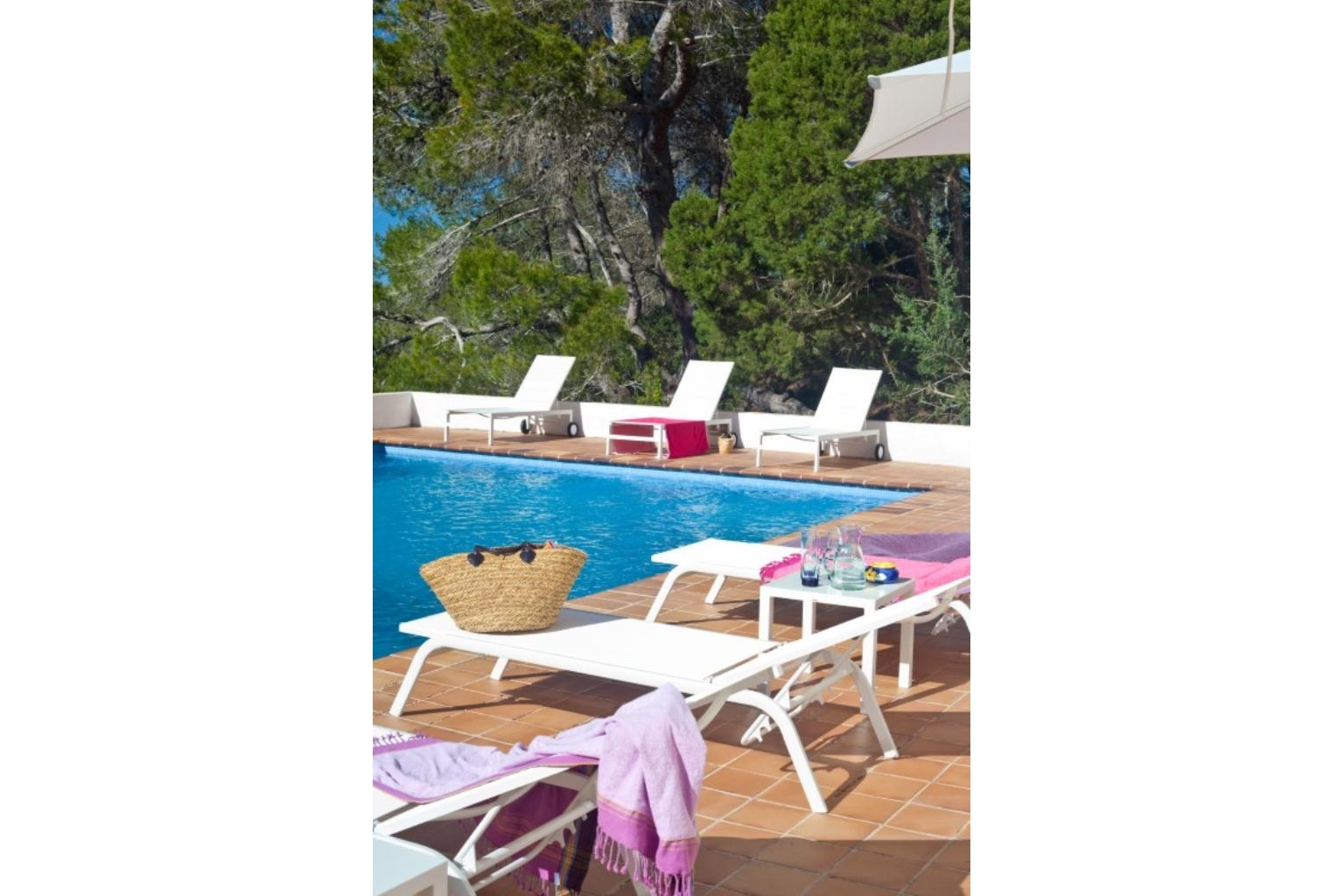Ibiza travel and vacation rentals 324 villa for rent in - Ibiza house renting ...