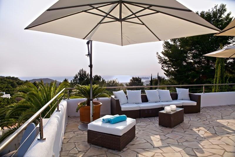 Ibiza Villa For Rent in Cala Tarida