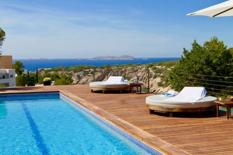 Ibiza Villa For Rent in Cala Vadella