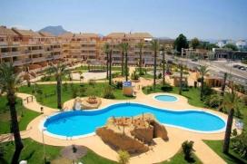 Mooi en comfortabel appartement  met gemeenschappelijk zwembad in Denia, aan de Costa Blanca, Spanje voor 4 personen, Denia