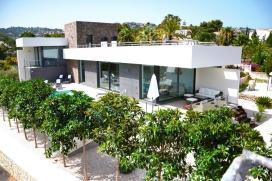 Moderne en luxe villa in Moraira, aan de Costa Blanca, Spanje  met privé zwembad voor 6 personen, Moraira
