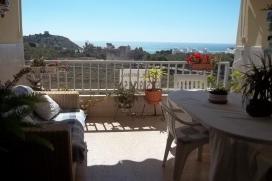 Groot en comfortabel appartement  met gemeenschappelijk zwembad in Villajoyosa, aan de Costa Blanca, Spanje voor 8 personen, Villajoyosa