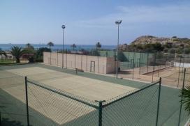 Mooi en luxe appartement  met gemeenschappelijk zwembad in Villajoyosa, aan de Costa Blanca, Spanje voor 4 personen, Villajoyosa
