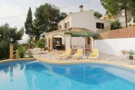Grosse und klassischer Villa in Javea, an der Costa Blanca, Spanien  mit privatem Pool für 10 P, Javea