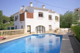 Schöne und komfortable Villa in Javea, an der Costa Blanca, Spanien  mit privatem Pool für, Javea