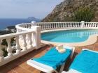 ANCLA 3223,Ferienhaus in Moraira, an der Costa Blanca, Spanien  mit privatem Pool für 8 Personen...