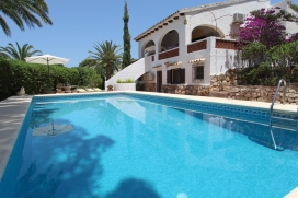 Villa  mit privatem Pool in Moraira, an der Costa Blanca, Spanien für 4 Personen, Moraira