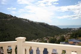 Liebliche und gemütliche Villa  mit privatem Pool in Moraira, an der Costa Blanca, Spanien für 6 Personen, Moraira